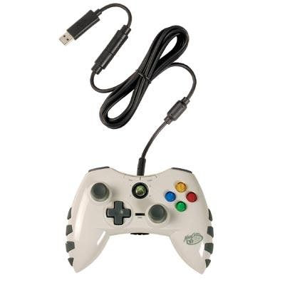 White Xbox 360 Wired Controller