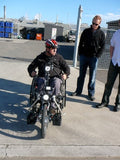 Stricker ElectroBike Quadriplegic Power Assist Handcycle front view