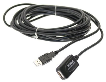 15 feet (5m) USB 2.0 Active Extension Cable - Broadened Horizons Direct