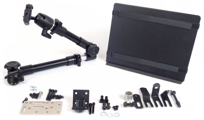 Robo Arm Mount Kit for Wheelchair or Bed - Broadened Horizons Direct