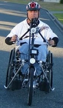 Load image into Gallery viewer, Stricker Smart Used Demo Quadriplegic Power-Assist Handcycle with Boost Button Electric Wheelchair Bike (FREE DHL Shipping USA & CA) - Broadened Horizons Direct