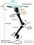 Robo Arm Extreme Adjustability