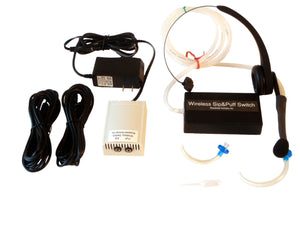 Wireless Sip-n-Puff Headset & Switches - Broadened Horizons Direct