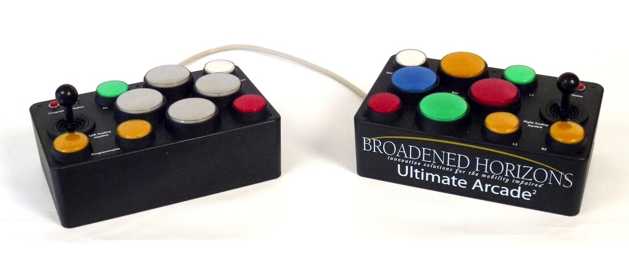 Ultimate Arcade 2 Limited Dexterity Video Game Controller - Split - Broadened Horizons Direct