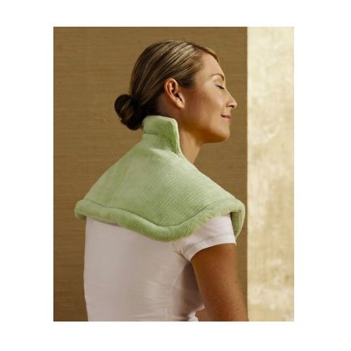 Switch Enabled Heating Pad - Therapeutic Neck and Shoulder Wrap - Broadened Horizons Direct