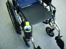 Load image into Gallery viewer, Wheelchair Drink Holder - Swiveling & Expandable Cup - Broadened Horizons Direct