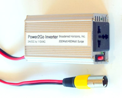 Power2Go 110VAC 200W Power Inverter - Broadened Horizons Direct
