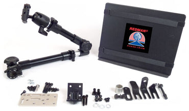Robo Arm Mount Kit for Wheelchair with 7/8 inch Tubing or Bed - Broadened Horizons Direct