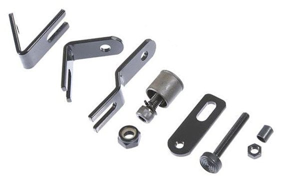 Robo Arm 6 Piece Base Bracket Kit - Broadened Horizons Direct
