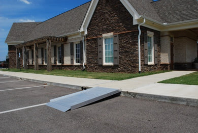 Sidekick Aluminum Solid Wheelchair Ramp - Broadened Horizons Direct