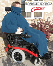 Load image into Gallery viewer, Comfort Coat Polartec Microfiber Fleece Wheelchair Poncho - Broadened Horizons Direct