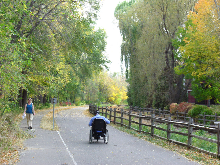 Enjoy Nature with Stricker ElectroBike Quadriplegic Power Assist Handcycle