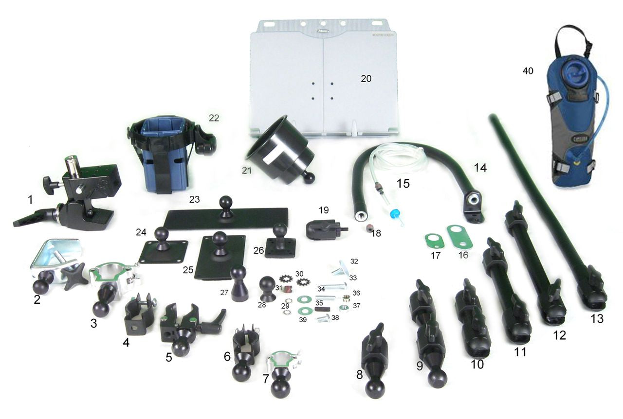 3rd Arm Mounting & Hydration System Pro Evaluation Kit - Broadened Horizons Direct