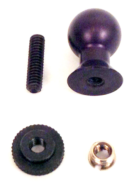 3rd Arm Ball Top with Thumbnut for cameras, devices with tripod mount point - Broadened Horizons Direct