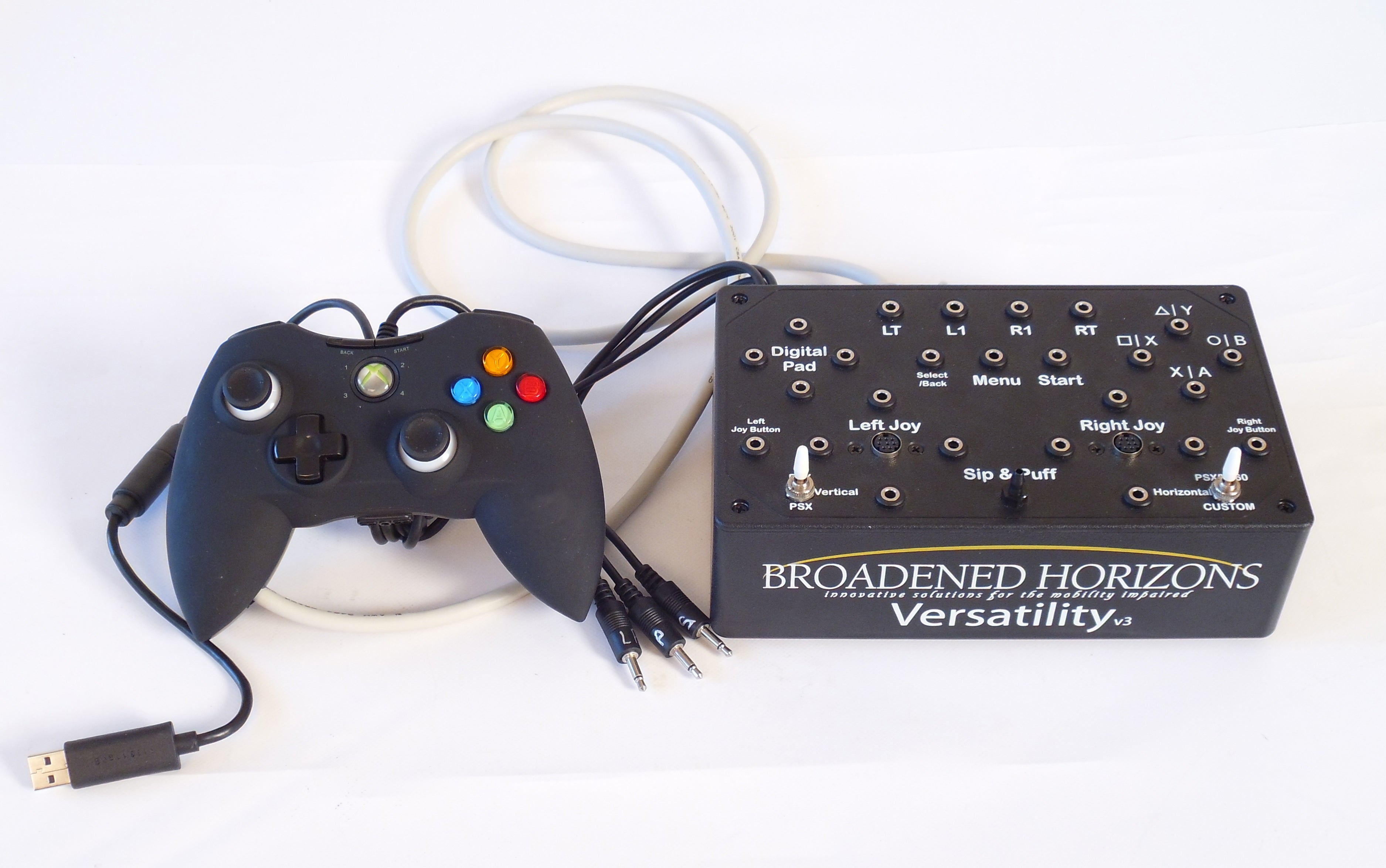 Versatility v3 for Xbox 360 & PC - Optional Xbox One & PS4 - Broadened Horizons Direct