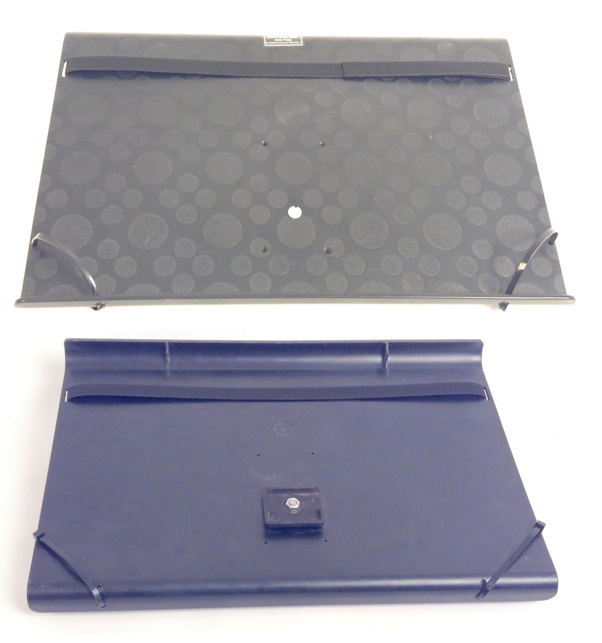 Robo Arm Extra-Large Black Tray for 17'' Laptop, Eating, Newspaper - Broadened Horizons Direct