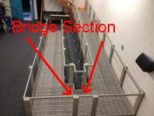 Load image into Gallery viewer, QRamp Module 7: 1' Bridge Section - Broadened Horizons Direct