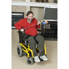 Load image into Gallery viewer, Telestik Duo Portable Lightweight Reacher plus Quadriplegic Hand strap Package - Broadened Horizons Direct
