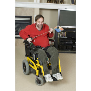 Telestik Duo Portable Lightweight Reacher plus Quadriplegic Hand strap Package - Broadened Horizons Direct