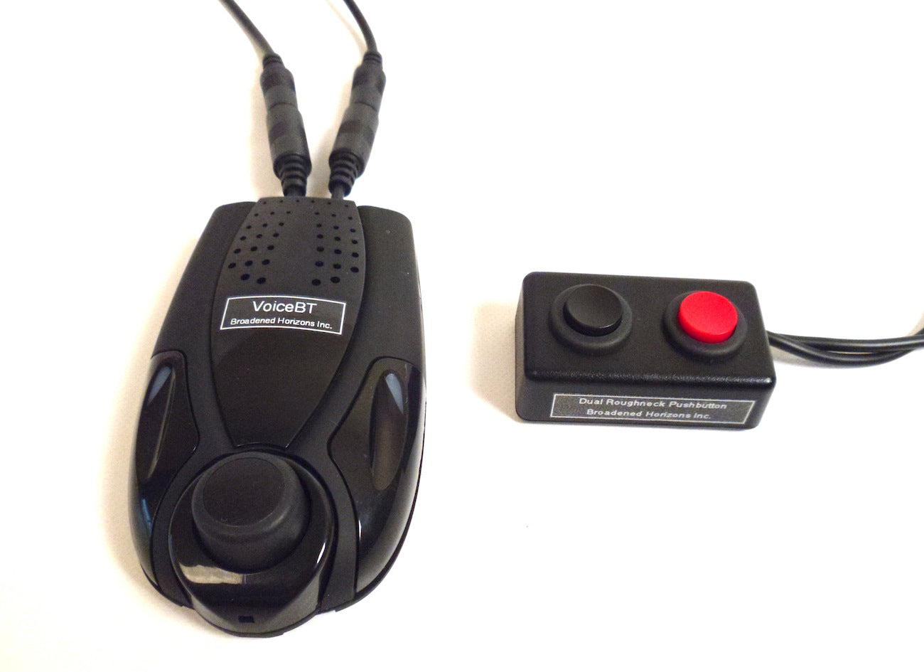 VoiceBT with Roughneck Dual Pushbutton Switches (sold separately)