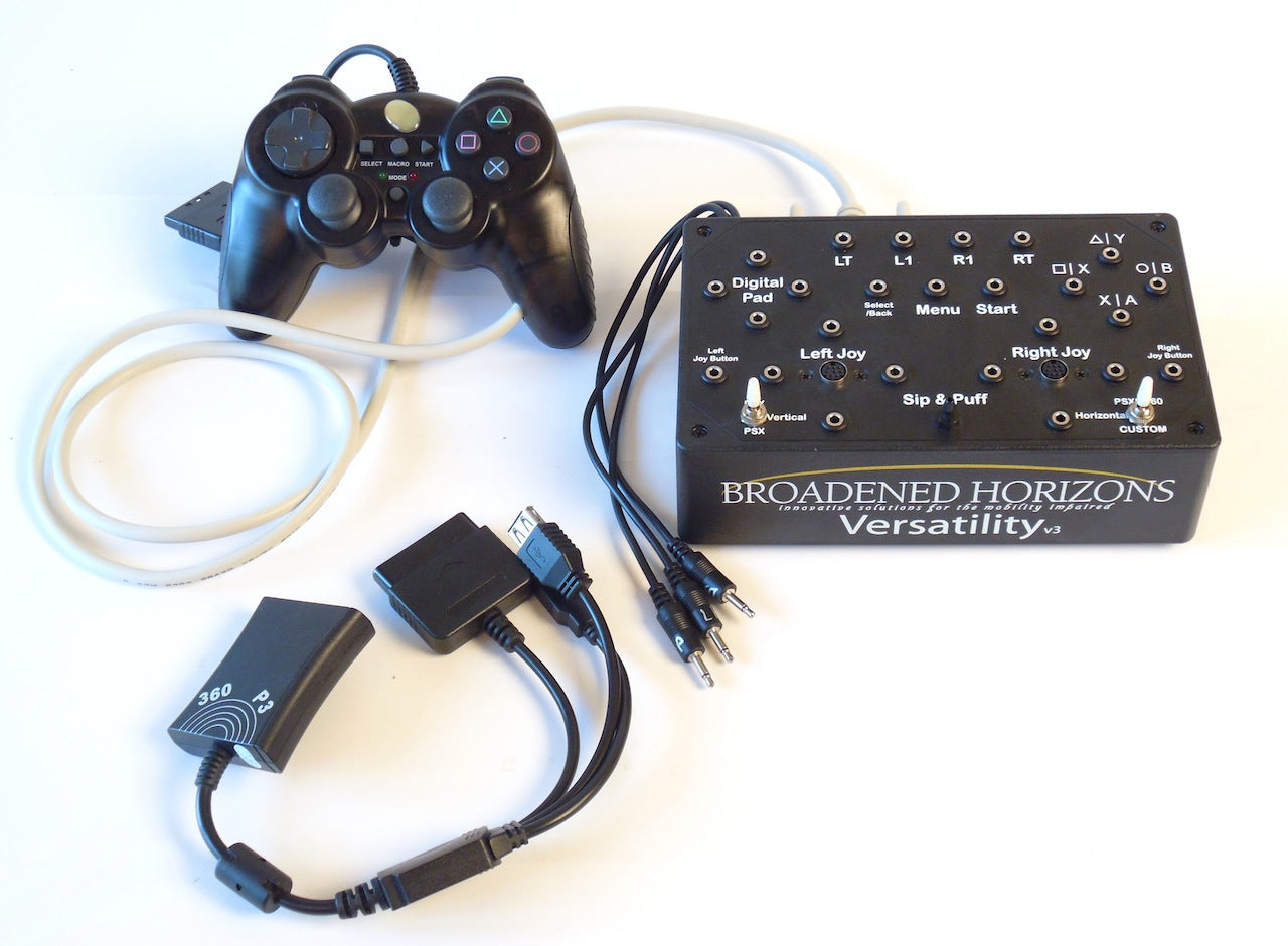 Versatility v3 for PS3, PS2, PS1, & Xbox 360 - Optional PS4 & Xbox One - Broadened Horizons Direct