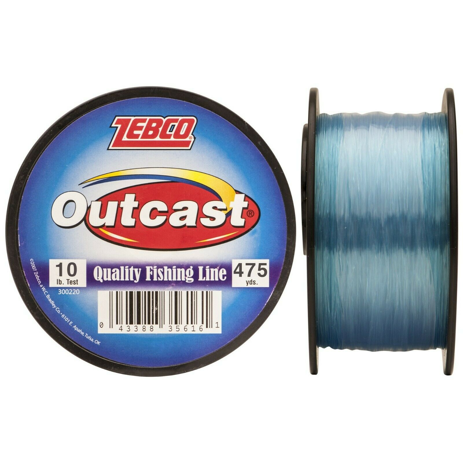 Fishing Line - 10 LB, 475 yards - Broadened Horizons Direct