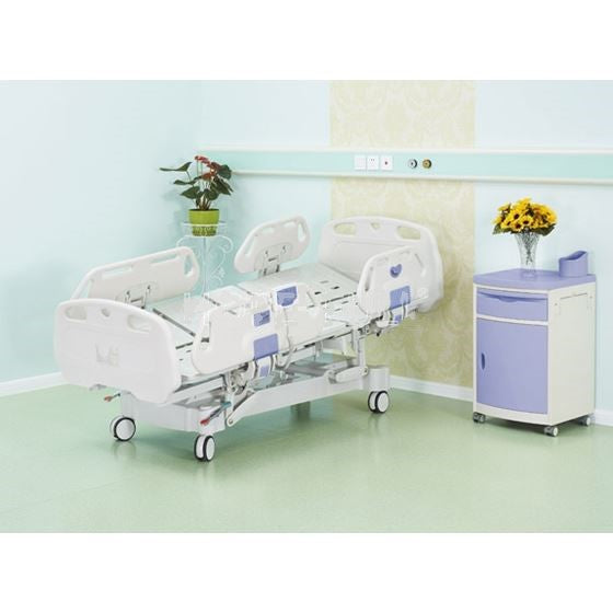 Horizonal Lateral Rotation 5 Function Hospital Bed with 33 x 77 inch Mattress - FREE Continental USA Shipping - Broadened Horizons Direct