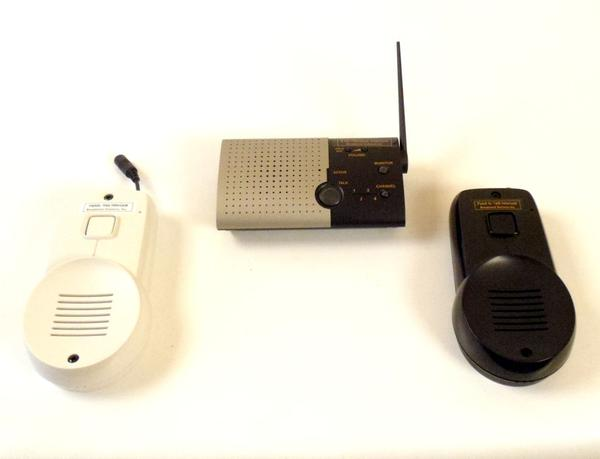 3 Location Hands-free Switch Enabled Wireless Intercom System -Client, Caregiver, & Front Door - Broadened Horizons Direct