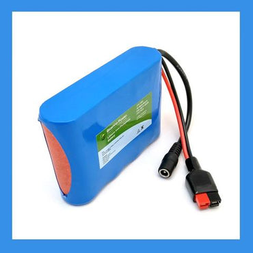 12V 3.3Ah Lifepo4 Battery & Charging Kit for M-Pow-R Motorized Fishing Reel - Broadened Horizons Direct