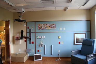 Medcare Pro Heavy Duty Ceiling Lift Motor Unit with Accessories - Broadened Horizons Direct