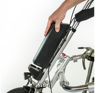eDragonfly Power Assist Handcycle for Manual Wheelchairs - Broadened Horizons Direct