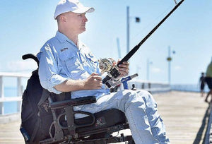 Fighting Wheelchair Ready-to-Fish Bundle