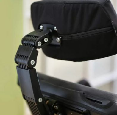 Permobil Headrest with Extra Extension Links - Broadened Horizons Direct