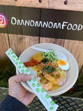 Nyonya Laksa - Pickup at Omnomnom Food Truck, 18 Oct 20, 10am to 1pm, Banks Reserve Mt Lawley