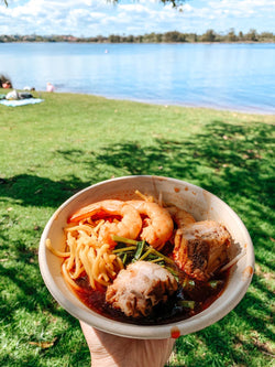 P'ribs Noodles Soup - Pick up at Omnomnom Food Truck 8 Nov 20 Banks Reserve 10am to 2pm