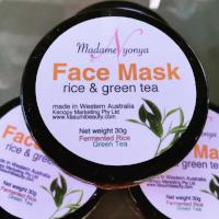 Madame Nyonya Rice & Green Tea Face Mask 30g