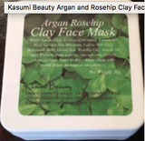 Kasumi Beauty Argan and Rosehip Clay Face Mask - 50g