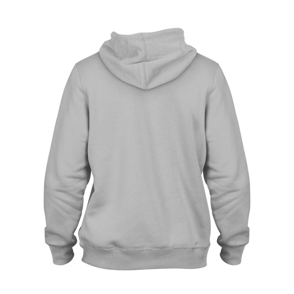 Your Custom Hoodie Grey - Front & Back