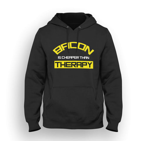 Bacon is cheaper than therapy hoodie