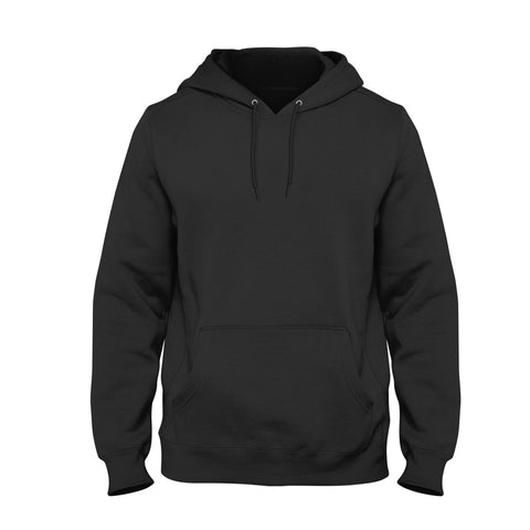 Your Custom Hoodie Black- Front & Back