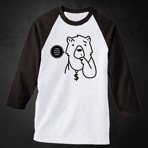 Confused Bear Long Sleeve Tee