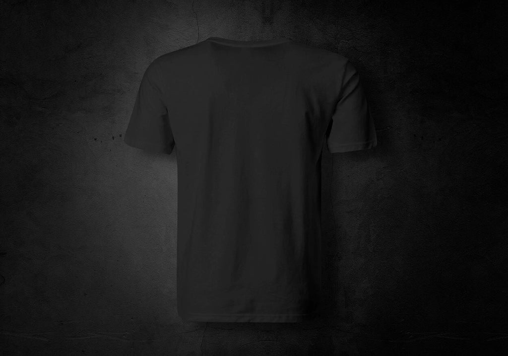 Your Custom T-Shirt Black - Back Only