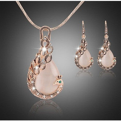 Peacock Goldplated Jewelry Sets - Abco... Store