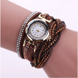 Rhinestone Bracelet  Watch Quartz Wristwatch - Abco... Store