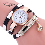 Casual Multilayer Bracelet   Pendant Watch - Abco... Store