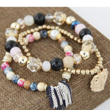 Multi layer Beads Bracelets & Bangles - Abco... Store
