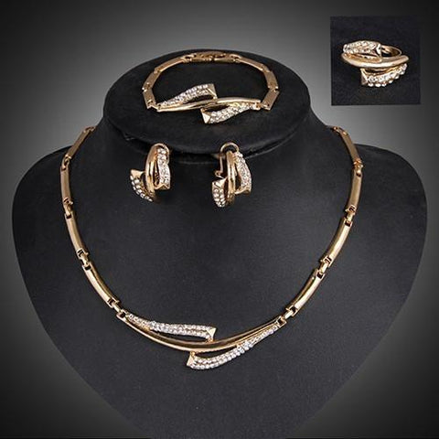 Timeless Elegance Collar Necklace Set - Abco... Store