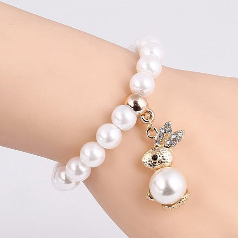 Charm Pulseras Mujer Pendants Pearl Bracelets & Bangles - Abco... Store