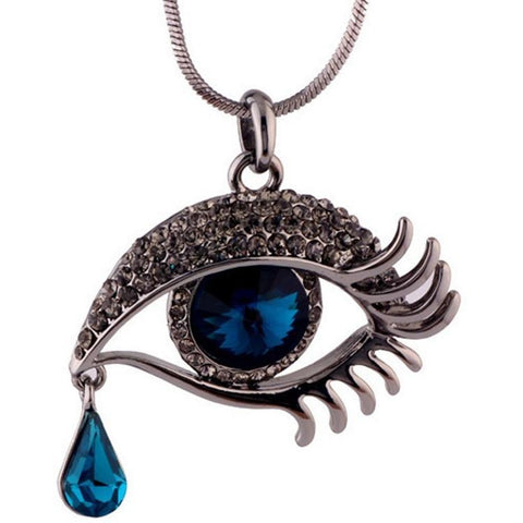 Blue Eyes Necklace - Abco... Store