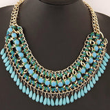 New Maxi   Droplet Statement  Choker Necklace - Abco... Store